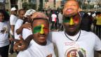 Wandel in Äthiopien: Tausende versammelten sich im Juni in Addis Abeba, um den neuen äthiopischen Premierminister Abiy Ahmed zu feiern und zu ehren.