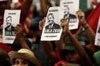 Anhänger von Lula da Silva in Brasilien