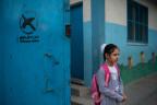 Erster Schultag in Gaza