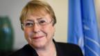 Michelle Bachelet, die neue Uno-Hochkommissarin für Menschenrechte.