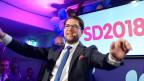 Jimmie Akesson, Parteichef der Schwedendemokraten.