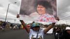 Die Menschenrechtlerin und Umweltschützerin wurde am 3. März 2016 ermordet.    ermordet.