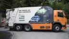Elektro-Kehrrichtabfuhr in Thun.