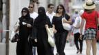 Wieviel Verhüllung darf es sein? Verschleierte Frauen in Genf.