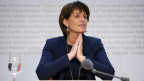 Bundesrätin Doris Leuthard erklärt ihren Rücktritt auf Ende Jahr.