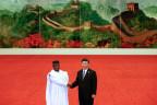 Die Präsidenten von Sierra Leone und China