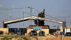 Grenzposten Nasib, zwischen Jordanien und Syrien.