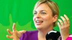 Katharina Schulze, die Spitzenkandidatin der Grünen in Bayern.