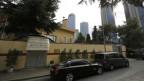 Hier zu sehen: Das saudische Konsulat in Istanbul. Hier wurde Jamal Khashoggi am 2. Oktober zum letzten Mal gesehen.