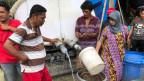 Hilfe in der indonesischen Stadt Palu.