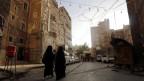 Der historische Teil in Saana, Hauptstadt von Jemen.