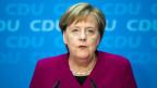 Angela Merkel kündigt ihren Rücktritt an.
