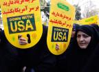 Demonstration gegen die USA in Teheran