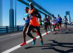 Marathonläufer in New York