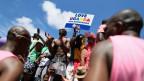 Gay-Pride in Südafrika.