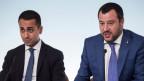 Luigi Di Maio (links) und Matteo Salvini.