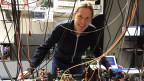 Prof. Philippe Treutlein am Physikalischen Institut in Basel.