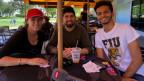 Laisha, Raymond und Gabriel - drei politisch interessierte Jugendliche im Gespräch mit dem Echo der Zeit.