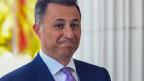 Nikola Gruevski, Ex-Premierminister von Mazedonien.