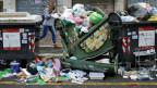 Italien hat ein Abfallproblem. Momentaufnahme in Rom.