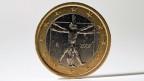 Italienische Euromünze.