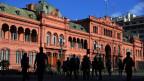 Der Präsidentenpalast Casa Rosada in Buenos Aires.