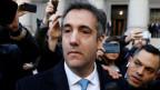 Der ehemalige Anwalt des US-Präsidenten Donald Trump, Michael Cohen, verlässt das Bundesgericht am 29. November 2018 in Manhattan, New York City.