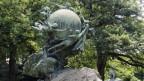Das Weltpostdenkmal erinnert an die Gründung des Weltpostvereins1874 in Bern.