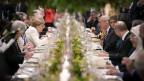 Essen der G20-Mitglieder in Buenos Aires.