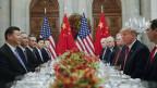 Xi Jinping und Donald Trump an einem bilateralen Treffen in Buenos Aires.