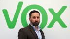 Santiago Abascal, Parteichef von Vox.