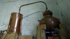 Gin-Produktion in der Strathearn Distillery, Methven, Schottland.