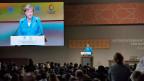 Angela Merkel in Marrakesch, Marokko vor der Regierungskonferenz zum Global Compact für Migration.