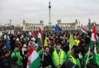 Grossaufmarsch in Budapest