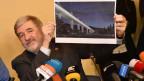 Audio «Eine neue Brücke für Genua – in einem Jahr soll sie stehen» abspielen.