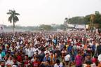 Wahlkampfveranstaltung der Opposition in Dhaka