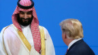 US-Präsident Donald Trump und Saudi-Arabiens Kronprinz Mohammed bin Salman.