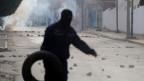 Unruhen in Kasserine, Tunesien.