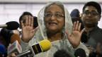 Premierministerin Sheikh Hasina, Bangladesch.