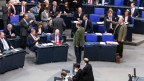 Hitzige Debatten im deutschen Bundestag.