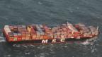 Riesenfrachter verliert 270 Container
