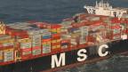 Die Suche nach den Containern geht weiter.