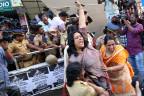 Frauen demonstrieren in Kerala