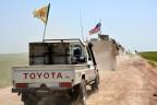 Kurdische und US-Truppen im Norden Syriens