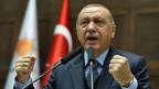 Der türkische Präsident Recep Tayyip Erdogan am 8. Januar 2019 im türkischen Parlament in Ankara.