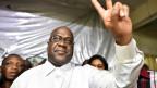 Oppositionskandidat Félix Tshisekedi gewinnt überraschend in Kongo.