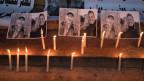 Anteilnahme für die ermordeten Touristinnen aus Skandinavien in Rabat, Marokko.