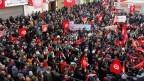 Landesweiter Streik in Tunesien gegen die Weigerung der Regierung, die Löhne anzuheben.