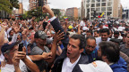 Juan Guaido Präsident des venezolanischen Parlaments erklärte sich selbst zum Interimspräsidenten von Venezuela.