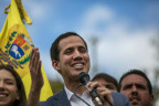 Hoffnungsträger Guaido vor Anhängern in Caracas